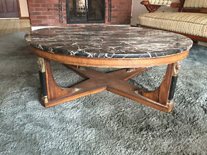 Unique Marble Coffee Table