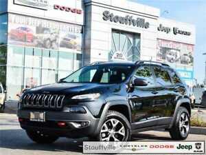 2017 Jeep Cherokee Trailhawk, Company CAR, Navi, Safety Tech