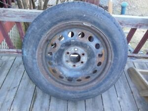 "Pontiac Montana 17"" Rim And Excellent Tire"