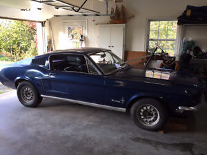 1968 FORD MUSTANG FASTBACK PROJECT CAR