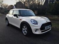 2016 MINI Hatch 1.5 One D (s/s) 5dr WHITE