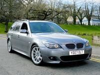 2007 07 REG BMW 535D 3.0 M SPORT AUTO TOURING