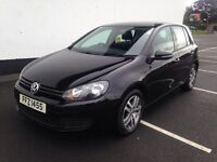 Volkswagen Golf 1.4 Twist 5dr Black 70000 FSH 2011