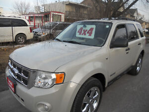 2008 Ford Escape Suv 4WD 141 kms Leather Sunroof 5995