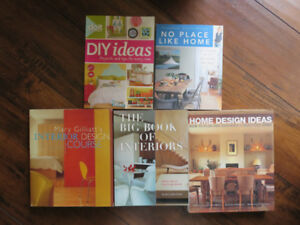 Collection of Decorating and Design Books