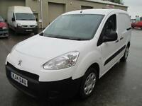 2014 Peugeot Partner diesel 1 owner euro 5 pas sld elec windows/mirrors