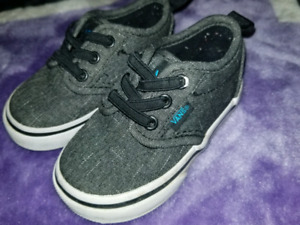 Toddler Van's shoes-barely used