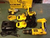 DeWalt 14.4 drill and impact driver
