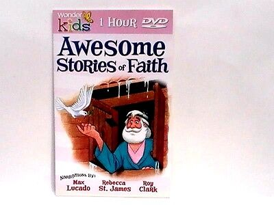 JONAH, by Max Lucado 1 HR DVD 8 Stories Read  11 SONGS NEW