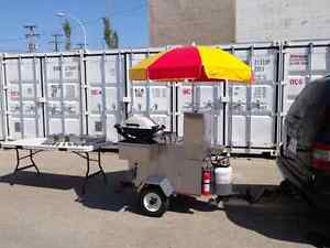 Hot Dog Cart or Other Foods