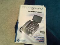 Screen phone