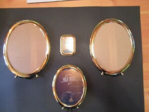 FRAMES - BRASS - HAND POLISHED - LOT OF 4