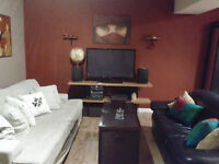 Furnished shared 4bdrm townhouse