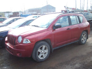 Parting out 2007 Jeep Compass