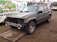 98 PARTS jeep for sale