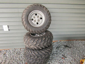 Quad Tires & Rims For Sale