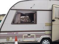 Eccles topaz se 2 berth caravan