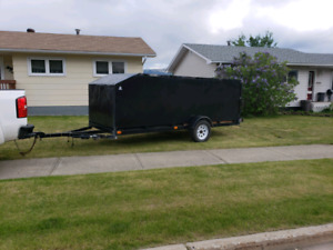 2014 16x5 3500lb axle utility double qaud trailer