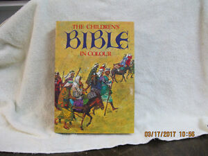 THE CHILDREN'S   BIBLE  IN  COLOR