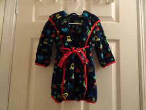 Boy`s Housecoat - 12 - 18 months - Navy