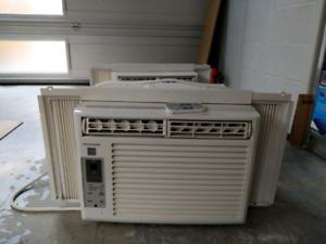 2 Frigidaire air conditioner units