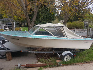 Sangster boat with 40hsp Merc Motor