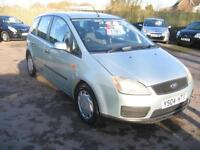 2004 Ford Focus C-MAX 1.8 LX A GREAT FAMILY CAR, LOTS OF ROOM !!!
