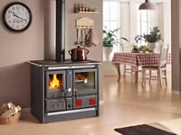 Wood Cook Stoves, Off The Grid Cooking & Heating, Made in Italy