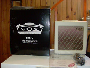 Vox AC 4 TV 4 Watt Tube Amp For Sale
