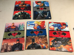 Assorted Superman/Batman graphic novels