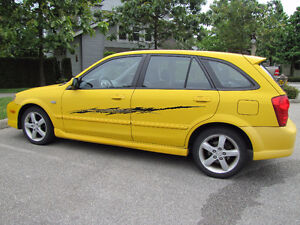 2003 Mazda Protege 5 w/ Custom Stripes, No Accidents