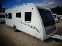 Elddis Crusader Shamal 2012 4 Berth Twin Fixed Beds Single Axle Touring Caravan For Sale Bristol