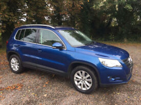 Volkswagen Tiguan 2.0TDI SE 4 Motion 2008 / 08 Reg / Panoramic Glass Sunroof