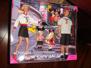 VARIETY OF  BARBIE DOLLS:   Barbie,Stacie,Kelly sets ,  NRFB