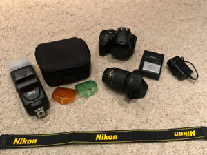 Like new Nikon D3400 + loads of acessories