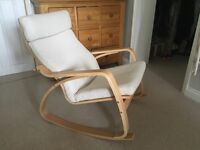Ikea Poang Rocking Armchair