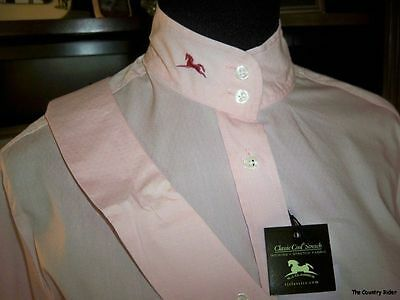 NWT RJ Classic Sterling Collection Show Shirt Classic Cool Stretch Pink Sz 40