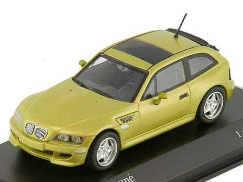 Scale model 1/43 BMW M Coupe 1999 Yellow Metallic