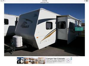 Jayco Eagle 31.5 double slide bunkhouse Fiberglass Camper - MINT