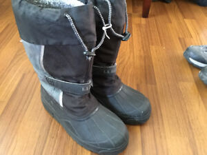 LLBean Snow Boots Youth Size 6