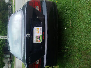 2002 Honda Civic Black Coupe (2 door)