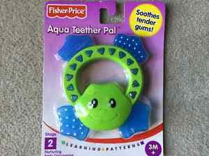 BRAND NEW FISHER-PRICE AQUA TEETHER PAL