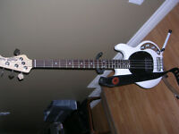 Selling Musicman Sterling Ray 34 with gig bag for $550