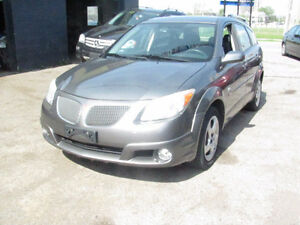 2005 Pontiac Vibe  4 door ,Hatchback ,162000 KM Safety& E