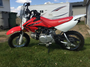 Honda CRF 50 dirt bike