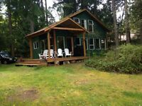Shawnigan Waterfront newer custom built house for rent