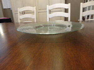 "20"" Diameter Perfect Shape Decorative Glass Bowl / Platter Kitchener / Waterloo Kitchener Area image 5"