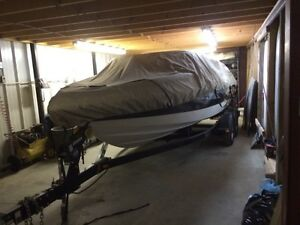 19ft chaparral and trailer
