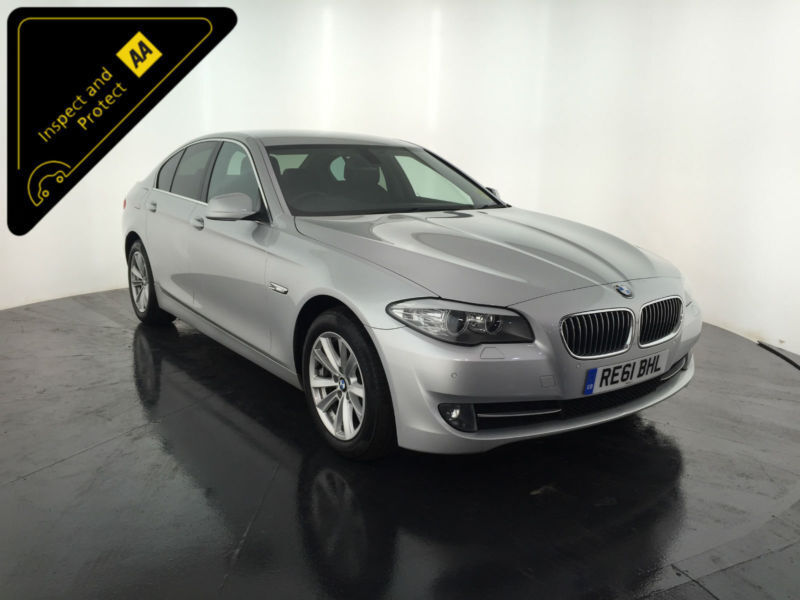 2011 61 BMW 520D EFFICIENTDYNAMICS DIESEL 2 OWNERS FULL BMW HISTORY FINANCE PX
