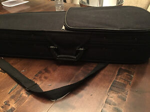 Brand-new violin case padded with sectionals for bow and Rozen
